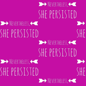 nevertheless she persisted pink