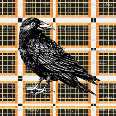 Retro Halloween -Raven