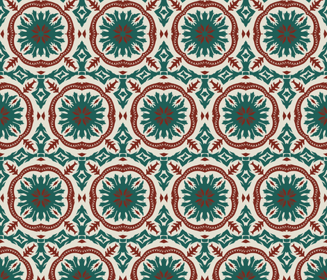 MADEIRA_SUN_TILE fabric by holli_zollinger on Spoonflower - custom fabric