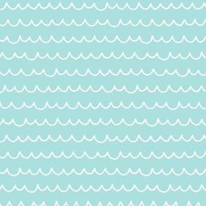 So Wavey - Minty Turquoise