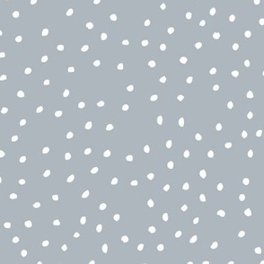 Abstract snow flakes and dots textured speckles winter ice gray