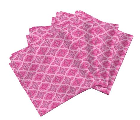 Pink persian bohemian