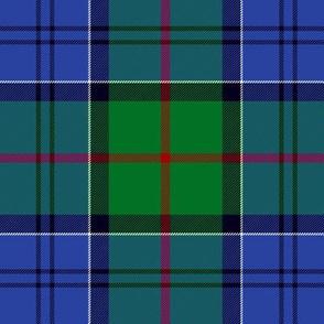 """Colquhoun tartan, 6"""" modern green/blue"""