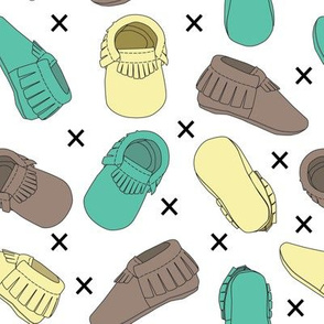 Scattered baby moccs