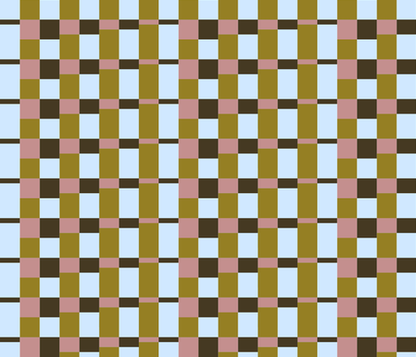 Dancing Stripes - ragtime fabric by ormolu on Spoonflower - custom fabric