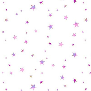 Scattered Pink Stars