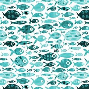 Aqua Fish - white