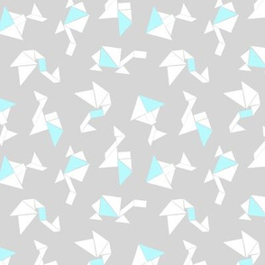 Animal Tangrams + Baby Blue