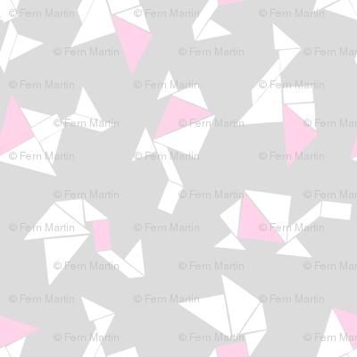 Animal Tangrams + Baby Pink