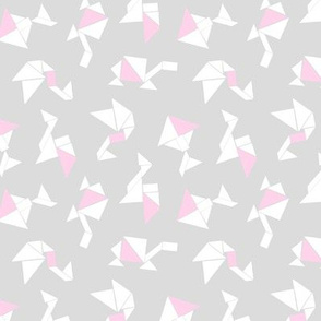Animal Tangrams + Baby Pink