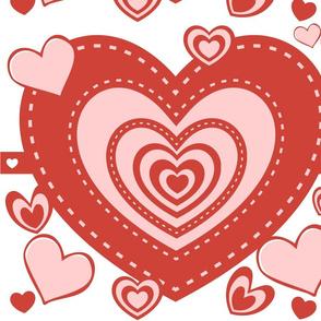 Valentine Heart full of heart-ed