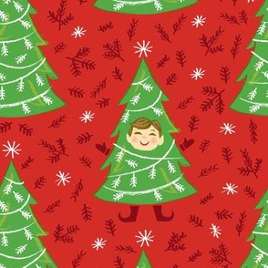 Elf in a Tree