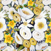 Floral yellow   gold