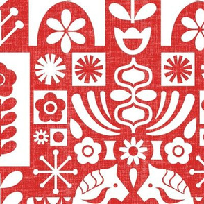 Swedish Folk Art_MCModernRed