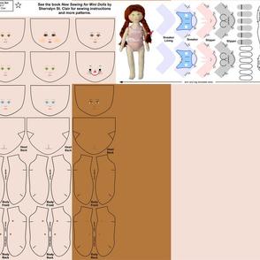 """6.5"""" Mini Doll 3 Pattern Supplement"""