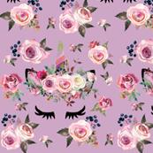 Dusty Rose Unicorn (lavender)