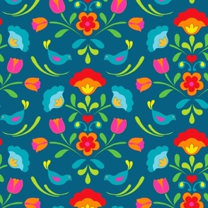 Swedish Folklore Floral