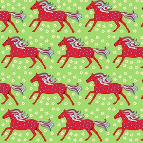 Swedish Red Horse