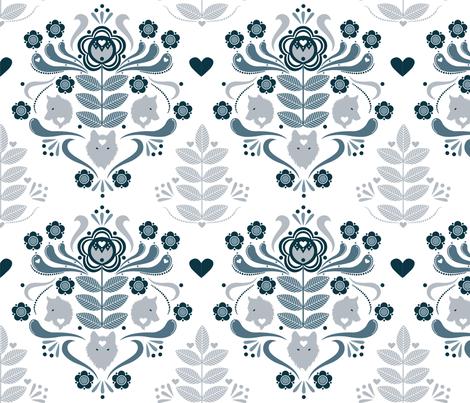 Silverwhite fabric by sowilofir on Spoonflower - custom fabric