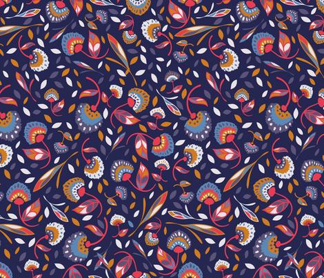 Bohemian Nights fabric by mayacoa on Spoonflower - custom fabric