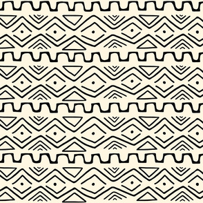 Mud Cloth - Cream