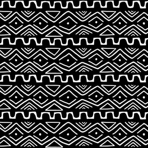 Mud Cloth - Black