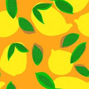 "6"" Squeeze Me Lemons - Orange"