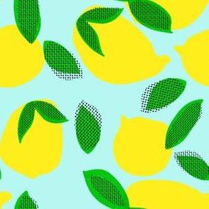 "6"" Squeeze Me Lemons - Teal"