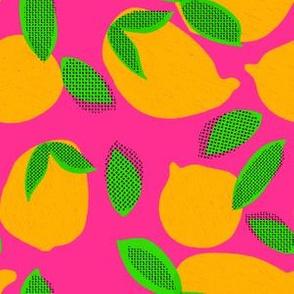 """6"""" Squeeze Me Oranges - Fuschia"""
