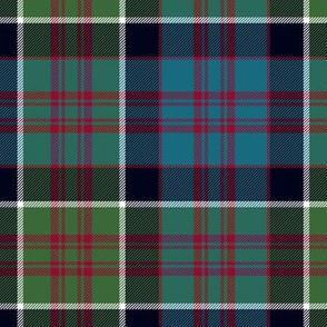 "MacDonald of Clan Ranald tartan, 7"" muted"