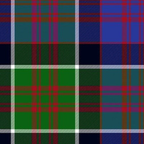 "MacDonald of Clan Ranald tartan, 10"" modern"