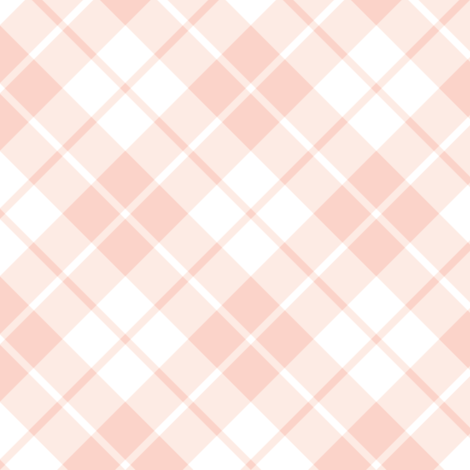 blush pink and white diagonal tartan fabric by weavingmajor on Spoonflower - custom fabric