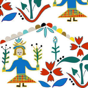 Swedish Scandinavian Folk Art