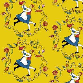 Swedish 'gammel'dance