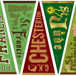 Catholic Banners - Famous males 2