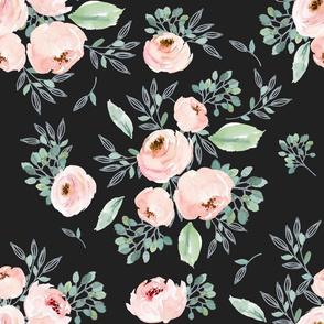 Gables Rose / Dark Charcoal