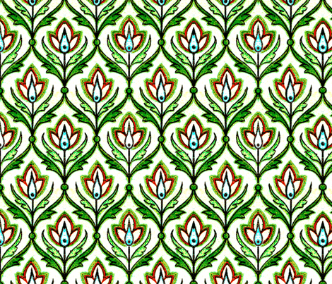 indo-persian 131 fabric by hypersphere on Spoonflower - custom fabric
