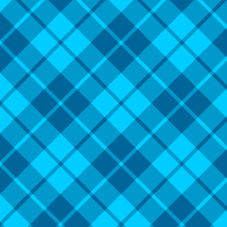 teal and turquoise diagonal tartan fabric by weavingmajor on Spoonflower - custom fabric