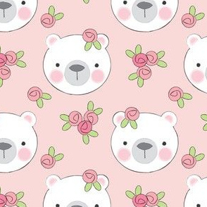 bears-and-flowers-on-soft-pink