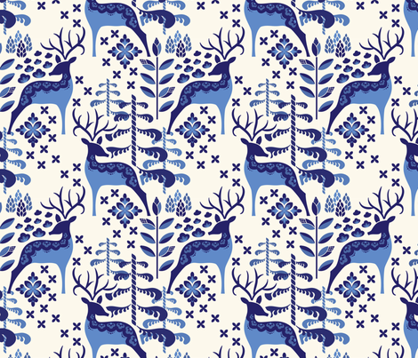 Delta Dance fabric by blairwhite712 on Spoonflower - custom fabric