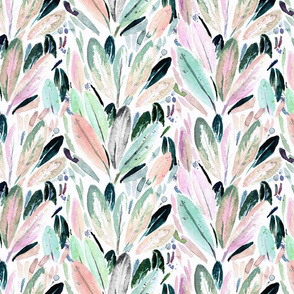 Feathered_leaves_Pastel