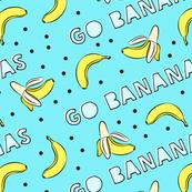 go bananas! - blue