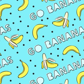 go bananas! - blue
