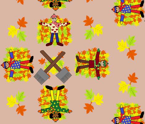 Fall_into_Fall fabric by hobbitrosie on Spoonflower - custom fabric