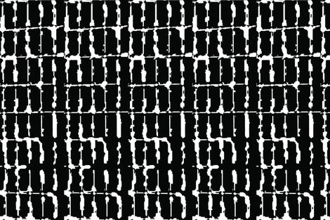 Grid Vertical Rectangles Black Upholstery Fabric fabric by llukks on Spoonflower - custom fabric