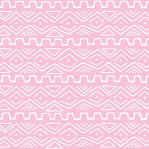 Mud Cloth - Pink