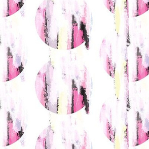 Abstract pastel pink color brush stroke stains