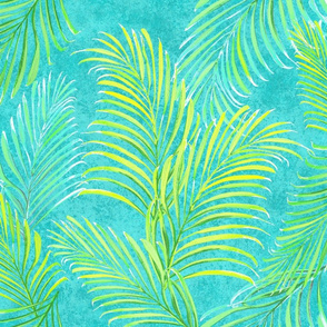 Breezy Palms Teal 200