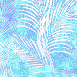 Breezy Palms Turquoise 150