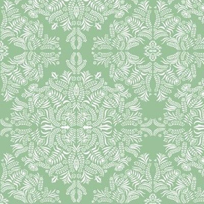 Jungle Flora Damask